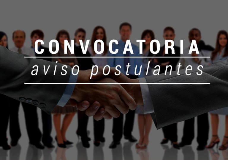 """PUBLICA LA  CONVOCATORIA, para puesto de trabajo de PSICÃ""""LOGO O TRABAJADOR SOCIAL."""