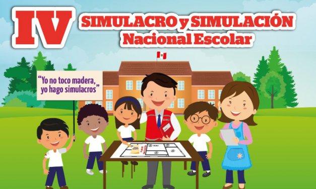 ORGANIZACIÓN Y EJECUCIÓN DEL QUINTO SIMULACRO NACIONAL ESCOLAR