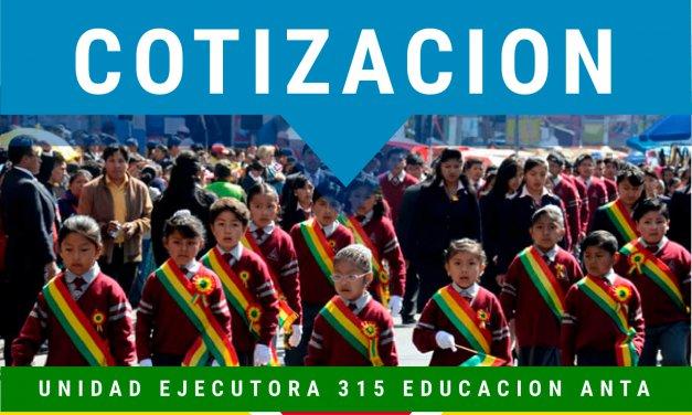 SOLICITUD DE COTIZACION  DE REFRIGERIOS Y ALMUERZOS PARA EL TALLER DE ELABORACIÓN DEL PROYECTO EDUCATIVO INSTITUCIONAL (PEI)