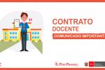 COMUNICADO CONTRATACIÓN DOCENTE 2021 DS. 015-2020-MINEDU; CONTRATACIÓN DOCENTE POR EVALUACIÓN DE EXPEDIENTES; NIVEL INICIAL