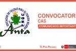 RESULTADO PRELIMINAR DEL PROCESO DE CONVOCATORIA CAS 08