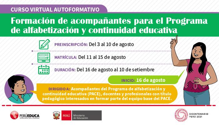 "<a href=""https://www.perueduca.pe/docentes/noticias-2021/08/convocatoria-2021-al-curso-virtual-autoformativo-formacion-de-acompanantes-para-el-programa-de-alfabetizacion-y-continuidad-educativa"">Convocatoria 2021 al curso virtual autoformativo ""Formación de acompañantes para el Programa de alfabetización y continuidad educativa"" </a> <p><span style=""background: #ffc33e;color: #b36929;cursor: pointer;display: inline-block;-moz-transform: scale(1,1);-moz-transform-origin: left center;font-size: 14px;padding: 5px 10px;border-bottom: 3px solid #f39c12;-moz-box-sizing: border-box;-webkit-box-sizing: border-box;width: 100%;text-align: center;margin-bottom: -7px;border-radius: 3px;""><strong><a href=""https://www.perueduca.pe/docentes/noticias-2021/08/convocatoria-2021-al-curso-virtual-autoformativo-formacion-de-acompanantes-para-el-programa-de-alfabetizacion-y-continuidad-educativa""> Leer más</a></strong></span></p>"